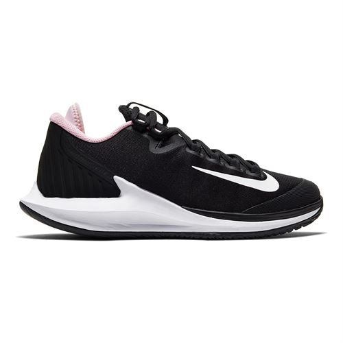 Nike Court Air Zoom Zero Womens Tennis Shoe Black/White/Pink Foam AA8022 005