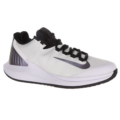 Nike Court Air Zoom Zero Womens Tennis Shoe - White/Multi Color/Black/Psychic Purple