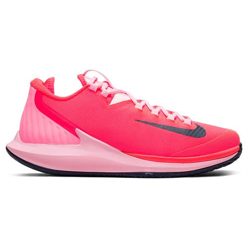 Nike Court Air Zoom Zero Womens Tennis Shoe Laser Crimson/Blackened Blue/Pink AA8022 604