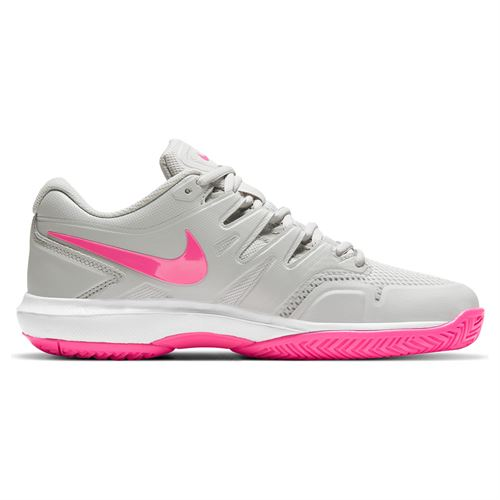 Nike Air Zoom Prestige Womens Tennis Shoe Grey Fog/Pink Blast/White AA8024 002