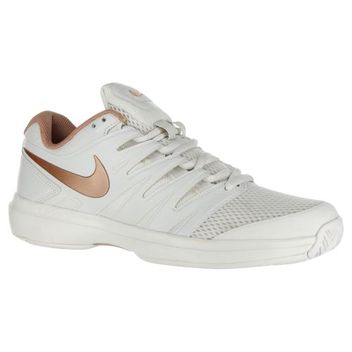 Nike Air Zoom Prestige Womens Tennis Shoe - Phantom/Red Bronze/Rose Gold