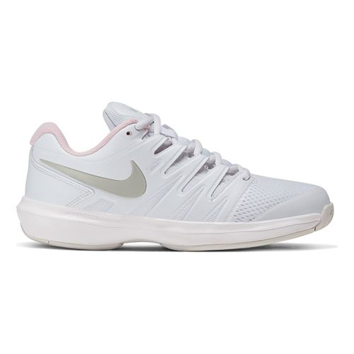 Nike Air Zoom Prestige Womens Tennis Shoe White/Photon Dust/Pink Foam AA8024 105
