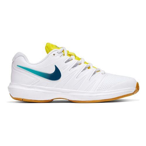 Nike Air Zoom Prestige Womens Tennis Shoe White/Valerian Blue/Oracle Aqua AA8024 107