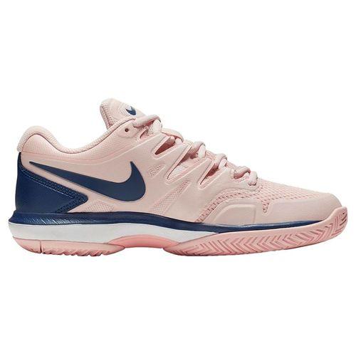 Nike Air Zoom Prestige Womens Tennis Shoe - Echo Pink/Coastal Blue/Storm Pink/White