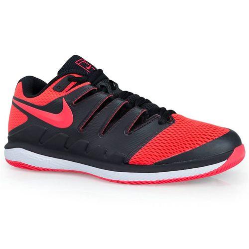 c2b1343aa912a Nike Air Zoom Vapor X Womens Tennis Shoe - Black Solar Red