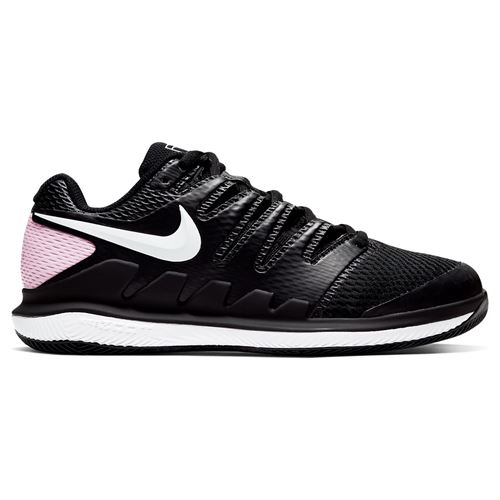 Nike Court Air Zoom Vapor X Womens Tennis Shoe Black/White/Pink Foam AA8027 008