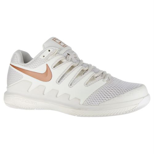 Nike Air Zoom Vapor X Womens Tennis Shoe - Phantom Metallic Rose Gold 3b966bbe6343