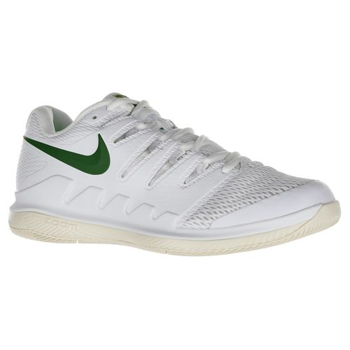 Nike Air Zoom Vapor X Womens Tennis Shoe - White/Gorge Green/Light Cream