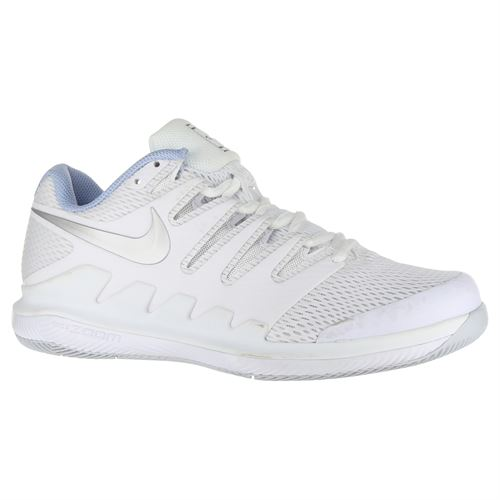 ac0922004d66d Nike Air Zoom Vapor X Womens Tennis Shoe - White Metallic Silver Pure  Platinum