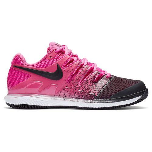 Nike Court Air Zoom Vapor X Womens Tennis Shoe Laser Fuchsia/Black/White AA8027 605