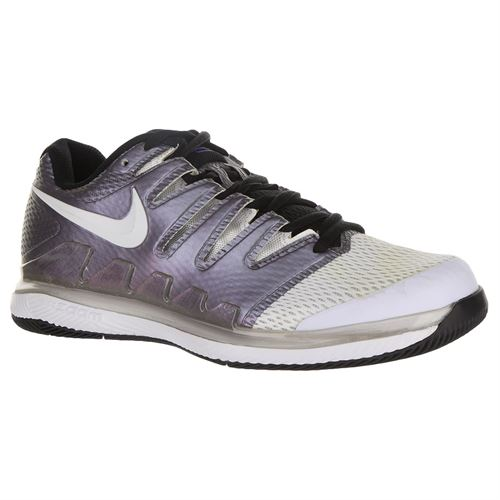 Nike Air Zoom Vapor X Womens Tennis Shoe - Multi Color/White/Black/Psychic Purple