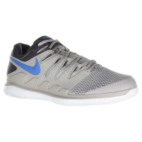 official photos 5bbe9 e3bc4 Nike Air Zoom Vapor X Mens Tennis Shoe - Atmosphere Grey Photo Blue White
