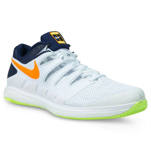 new arrival 5a724 11604 Nike Air Zoom Vapor X Mens Tennis Shoe - Phantom Orange Peel Blackened Blue