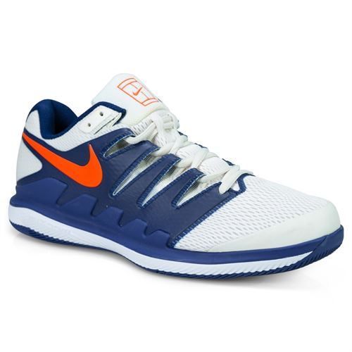 Nike Air Zoom Vapor X Mens Tennis Shoe - Phantom Orange Blaze Blue  3e5094374