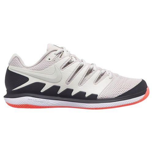Nike Air Zoom Vapor X Mens Tennis Shoe - Light Bone/Black/Hot Lava