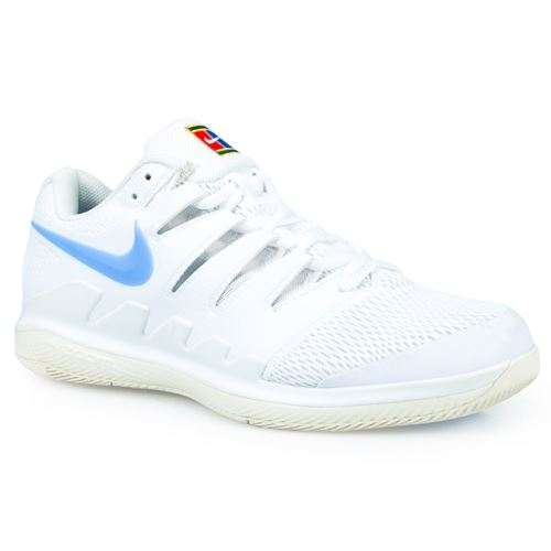 online store f4841 a603e Nike Air Zoom Vapor X Mens Tennis Shoe - White University Blue Light Cream