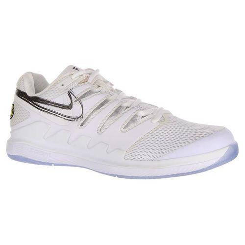 Nike Air Zoom Vapor X Mens Tennis Shoe - White/Metallic Summit/Black/Canary