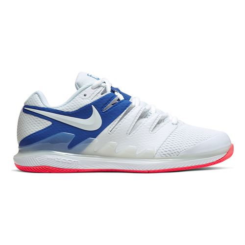 Nike Air Zoom Vapor X Mens Tennis Shoe White/Game Royal/Flash Crimson AA8030 105