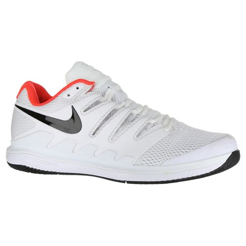 36cec4f8b96a Nike Air Zoom Vapor X Mens Tennis Shoe - White Black Bright Crimson