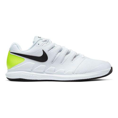 Nike Air Zoom Vapor X Mens Tennis Shoe White/Black/Volt AA8030 107