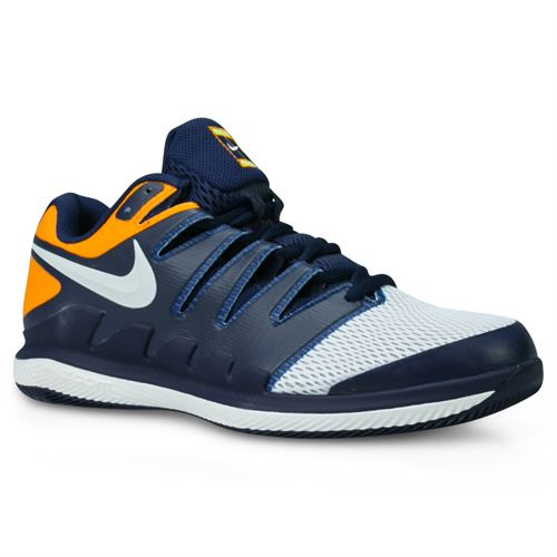 outlet store e3489 b7a3e Nike Air Zoom Vapor X Mens Tennis Shoe - Blackened Blue Phantom Orange Peel