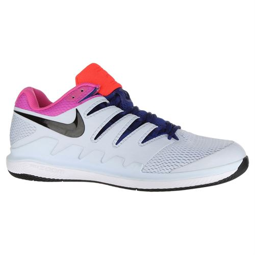 834332baa97e Nike Air Zoom Vapor X Mens Tennis Shoe - Half Blue Black White