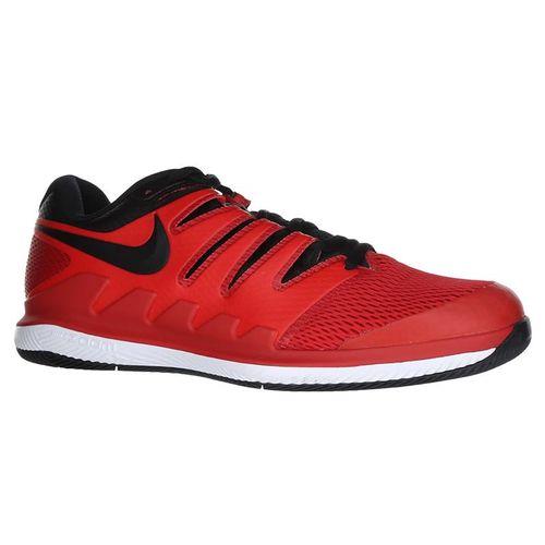 Nike Air Zoom Vapor X Mens Tennis Shoe - University Red/Black/White
