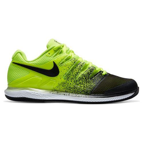 Nike Court Air Zoom Vapor X Mens Tennis Shoe Volt/Black/White AA8030 702