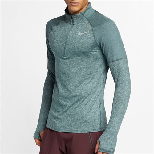 ce9676812ee7 Nike Element 1 2 Zip Pullover - Hasta Aviator Grey Reflective Silver
