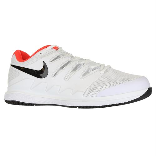 6ba5ce844719 Nike Air Zoom Vapor X Wide Mens Tennis Shoe - White Black Bright Crimson