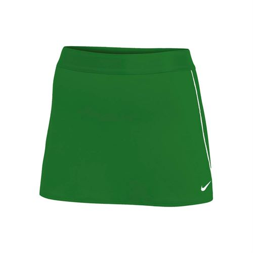 Nike Court Dry Skirt - Dark Green/White