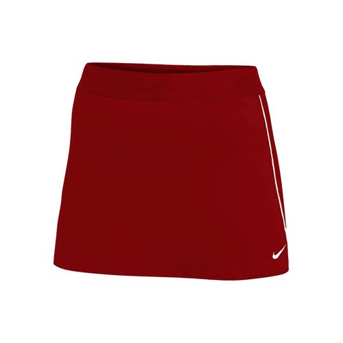 Nike Court Dry Skirt - Cardinal/White