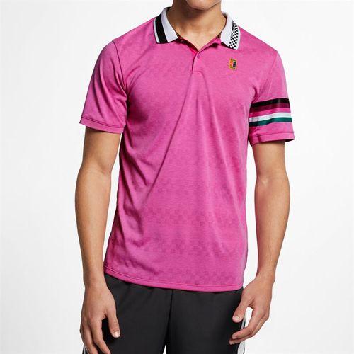 Nike Court Advantage Polo - Active Fuchsia