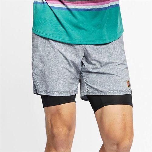 brand new c974d 13621 Nike Court Dri Fit Flex Ace Short - Cool Grey Black