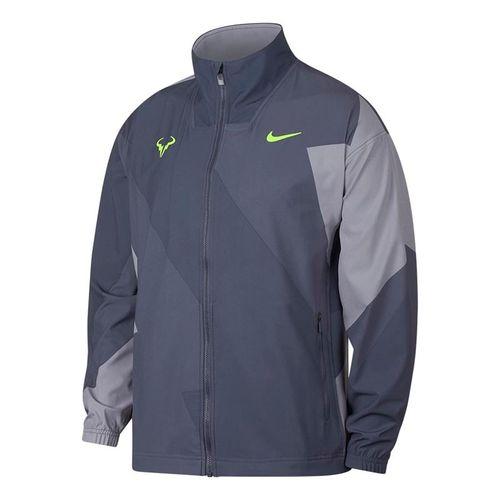 Nike Rafa Full Zip Jacket - Light Carbon/Volt Glow