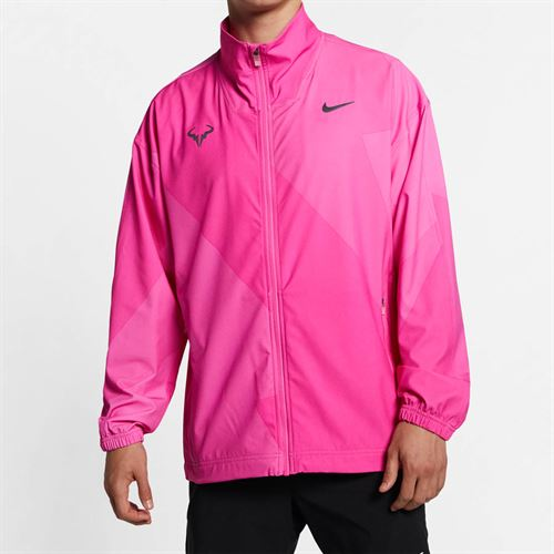 Nike Court Rafa Full Zip Jacket - Laser Fuchsia/Thunder Grey
