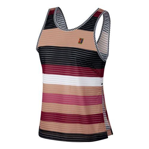 Nike Court Dry Tank - Rose Gold/Black/White