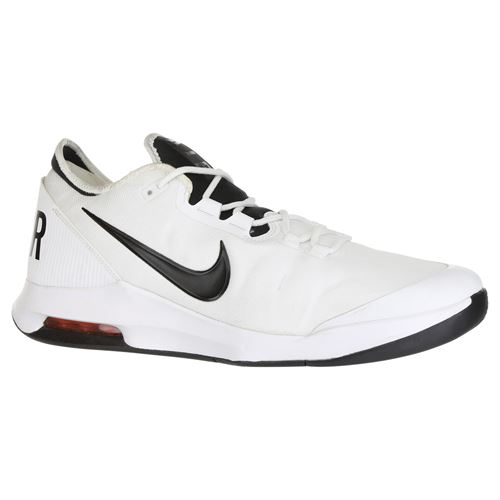 official photos e3391 bb8d2 Nike Air Max Wildcard Mens Tennis Shoe - White Black Bright Crimson