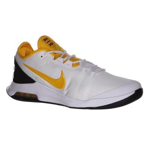 size 40 d4157 e8c1a Nike Air Max Wildcard Mens Tennis Shoe - White University Gold White Black