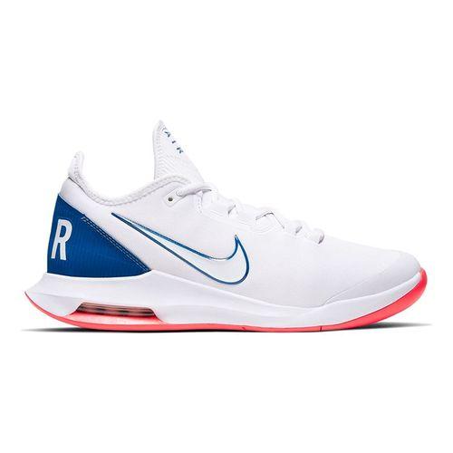 Nike Court Air Max Wildcard Mens Tennis Shoe White/Game Royal/Flash Crimson AO7351 103