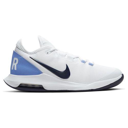 Nike Court Air Max Wildcard Mens Tennis Shoe White/Obsidian/Royal Pulse AO7351 106
