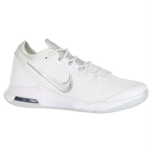 new styles 0d107 9eaf3 Nike Air Max Wildcard Womens Tennis Shoe - White Metallic Silver