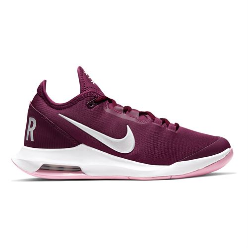 Nike Court Air Max Wildcard Womens Tennis Shoe Bordeaux/White/Pink Rise AO7353 603