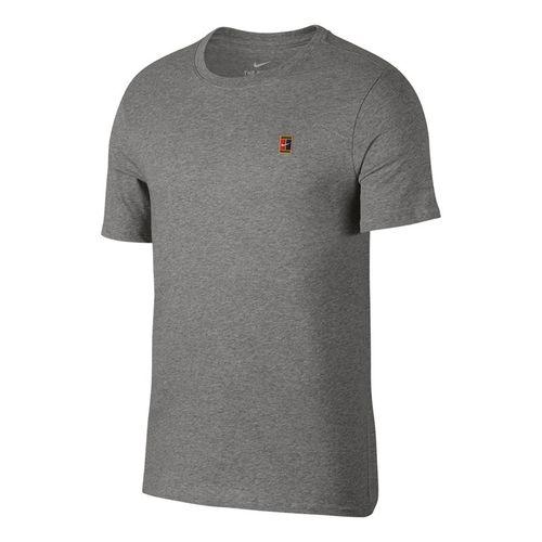 f0dd72f5eca6 Nike Court Logo Tee - Dark Grey Heather