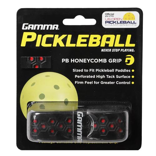 Gamma Honeycomb PB Replacement Grip - Black/Red