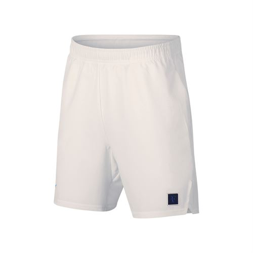 Nike Boys Court Flex RF Ace Short - White/University Blue