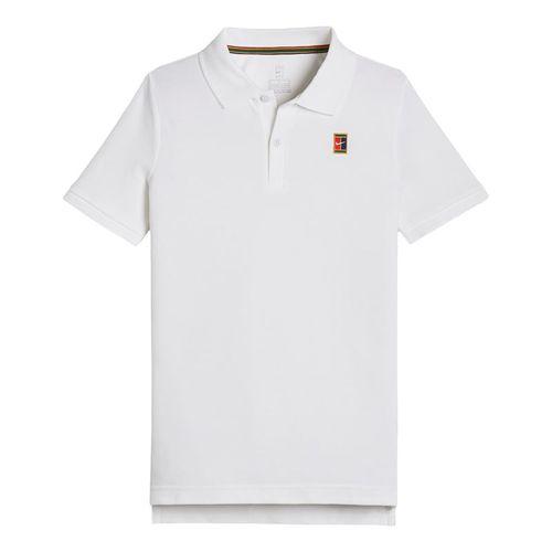 Nike Boys Court Polo - White