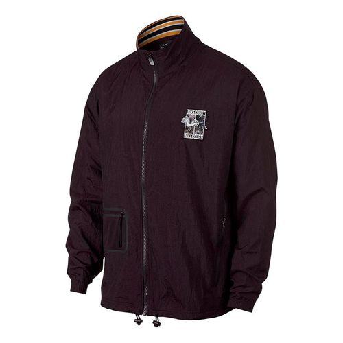 Nike Court Stadium 2 Jacket - Burgundy Ash/White