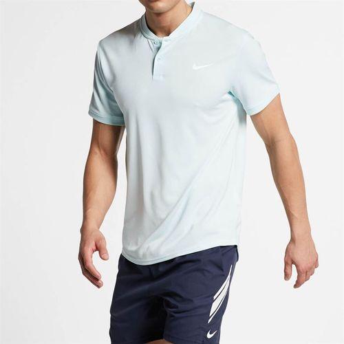 Nike Court Dry Blade Polo - Teal Tint/White