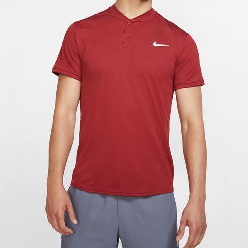 Nike Court Dry Blade Polo - Team Crimson/White